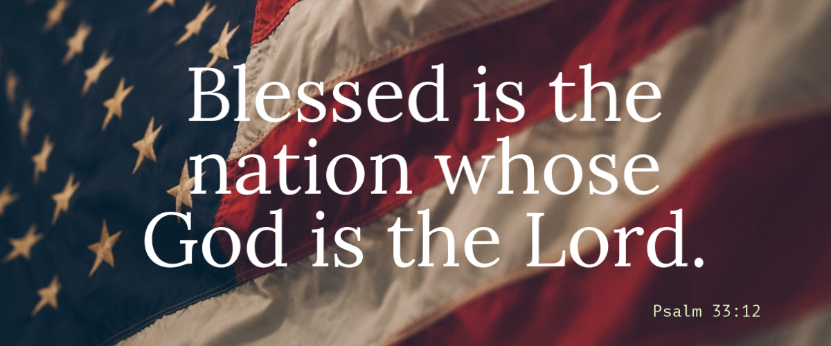 Blessed is the nation …
